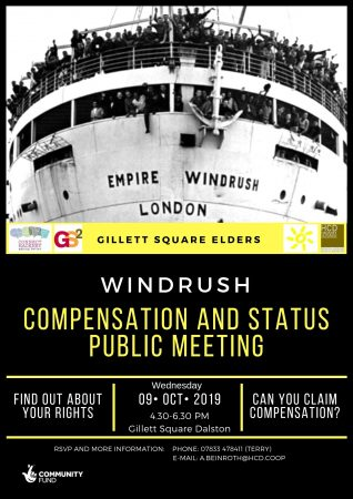 Windrush event poster